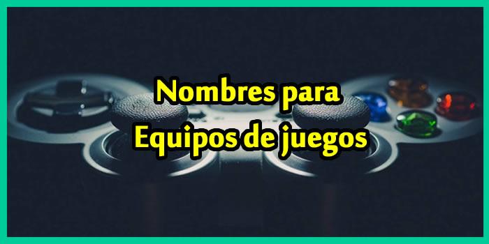 Nombres Para Equipos De Videojuegos Gamers 2018 Listado De 104